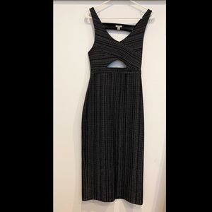 URBAN OUTFITTER *TAGS ON* Midi Cutout Dress Size S